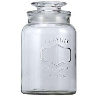 Euro-Ware Glass 1.8-liter Large Mason Jar Container