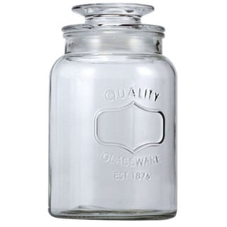 Euro-Ware 1.3-liter Medium Clear Glass Mason Jar