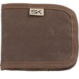 Stormy Kromer Reserve Tan Wallet