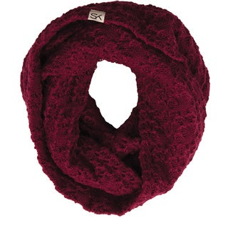 Stormy Kromer The Summit Berry Red Acrylic Scarf (Option: Brown)