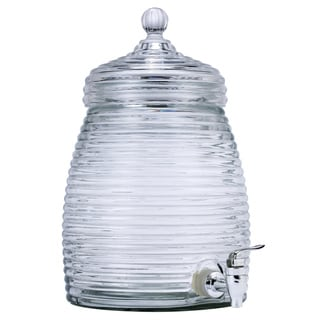 Euro-Ware Mini Beehive 5 Liter Glass Beverage Dispenser