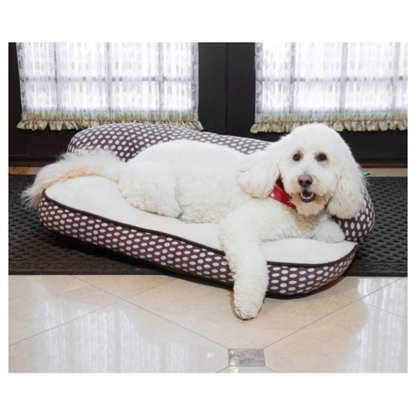 Dot Sofa Comfy Pet Bed Free Shipping Today 19197078