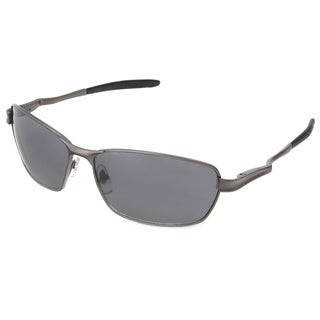 Hot Optix Men's Fashion Spring-hinge Rectangle Wrap Sunglasses
