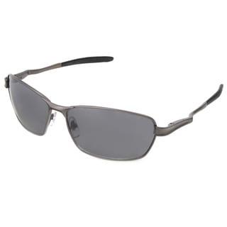 Hot Optix Men's Fashion Spring-hinge Rectangle Wrap Sunglasses