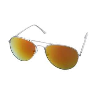 Hot Optix Men's Fashion Mirrored Aviator Sunglasses