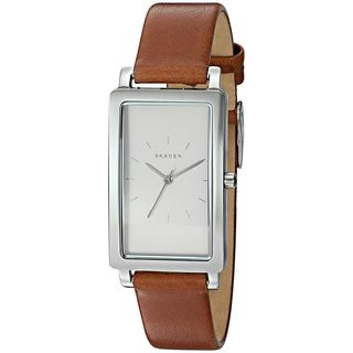 Skagen Women's SKW2464 'Hagen' Brown Leather Watch