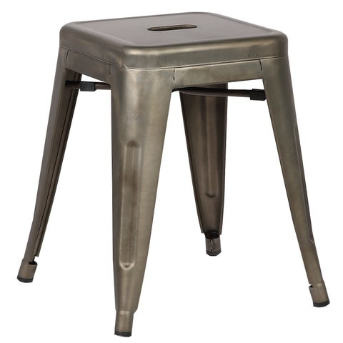 Poly and Bark Trattoria 18 Inch Table Stool in Bronze