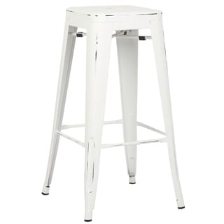 Edgemod Trattoria 30 Inch Bar Stool in Distressed Finish