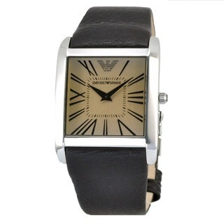 Armani Men's AR2018 Super Slim Brown Watch