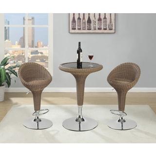 Modern Rattan Bar Table