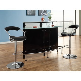 Coaster Company Modern Black Bar Table