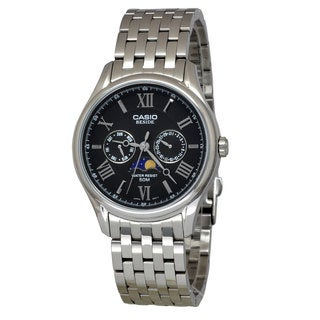 Casio Men's BEM312D-1A Beside Black Watch