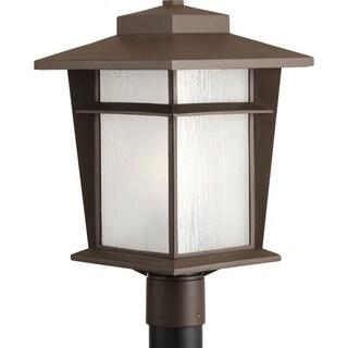 "Progress Lighting  P6421-20WB Loyal One Light Post Lantern with bulb (11"")"