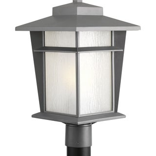 "Progress Lighting P6421-136WB Loyal One Light Post Lantern with bulb (11"")"