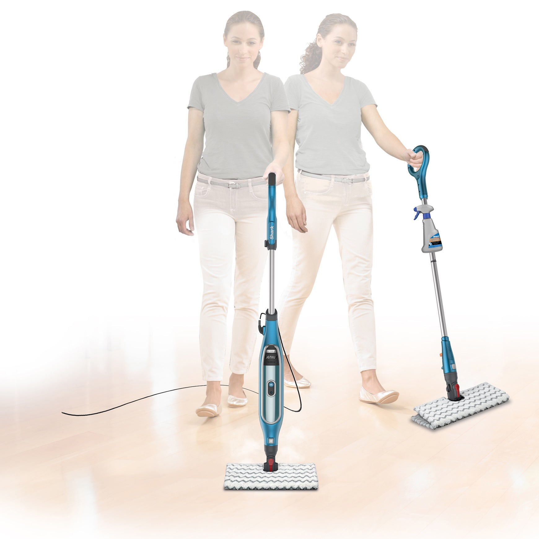 Shark Deluxe Steam Pocket Mop Carpet Glider Carpet