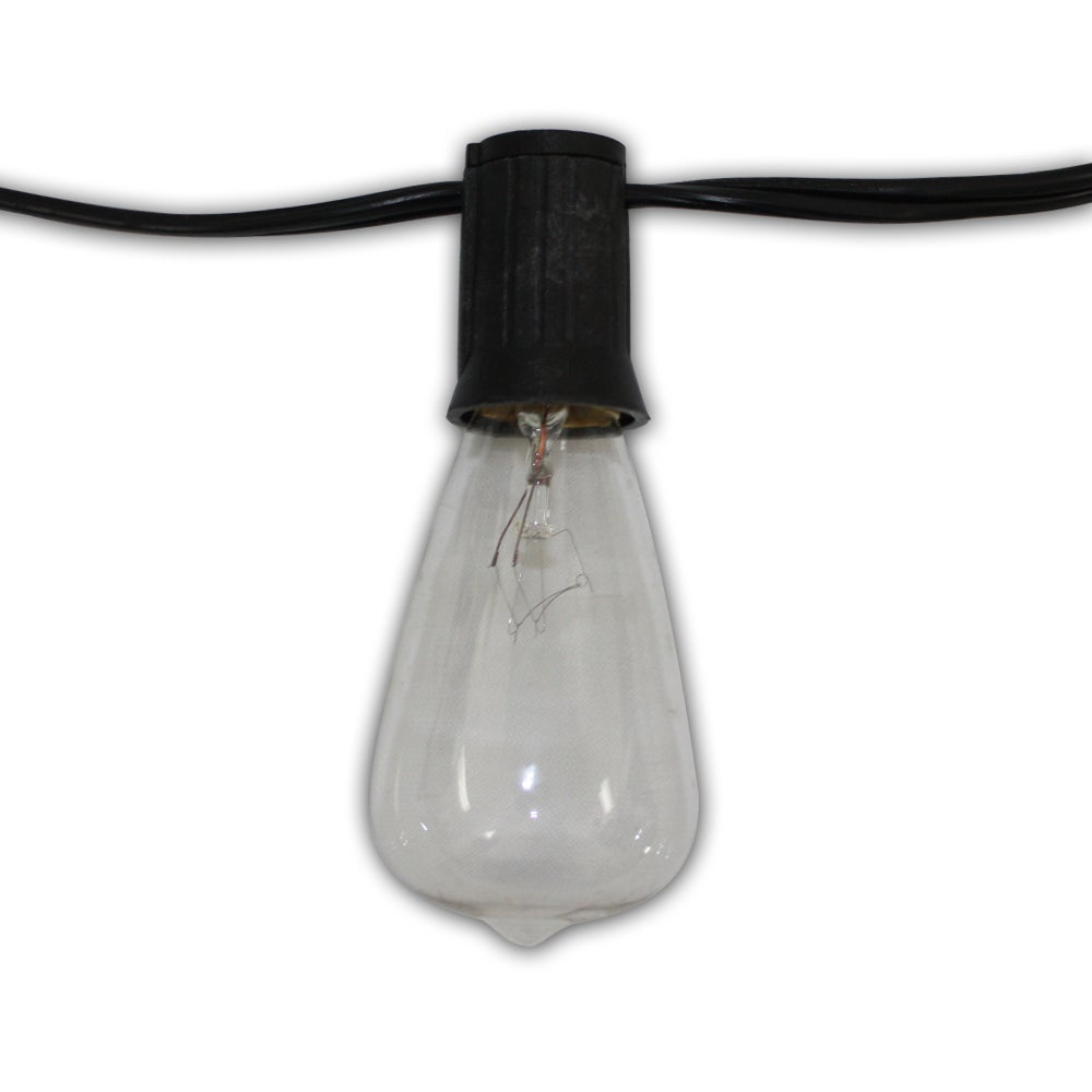 Wildon Home Edison 12-foot 10-light 18-gauge Cord with Cl...