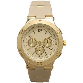 Olivia Pratt Women's Genuine Beautiful 3-dial Watch