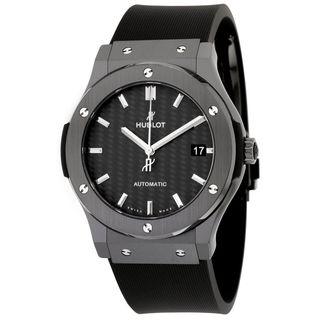 Hublot Men's 511.CM.1771.RX 'Classic Fusion Racing' Automatic Black Rubber Watch