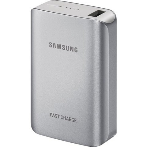 Samsung Fast Charge Battery Pack(5.1A), Silver