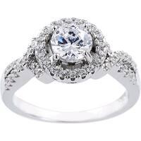 1-carat Cubic Zirconia Engagement-style Ring