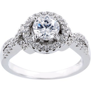 1-carat Cubic Zirconia Engagement-style Ring