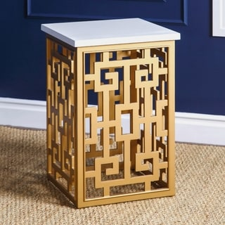 Abbyson Marseille Gold End Table