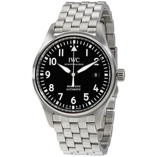 IWC Men's IW327011 'Pilot' Automatic Stainless Steel Watch