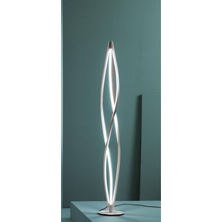 Twist White Aluminum LED Table Lamp