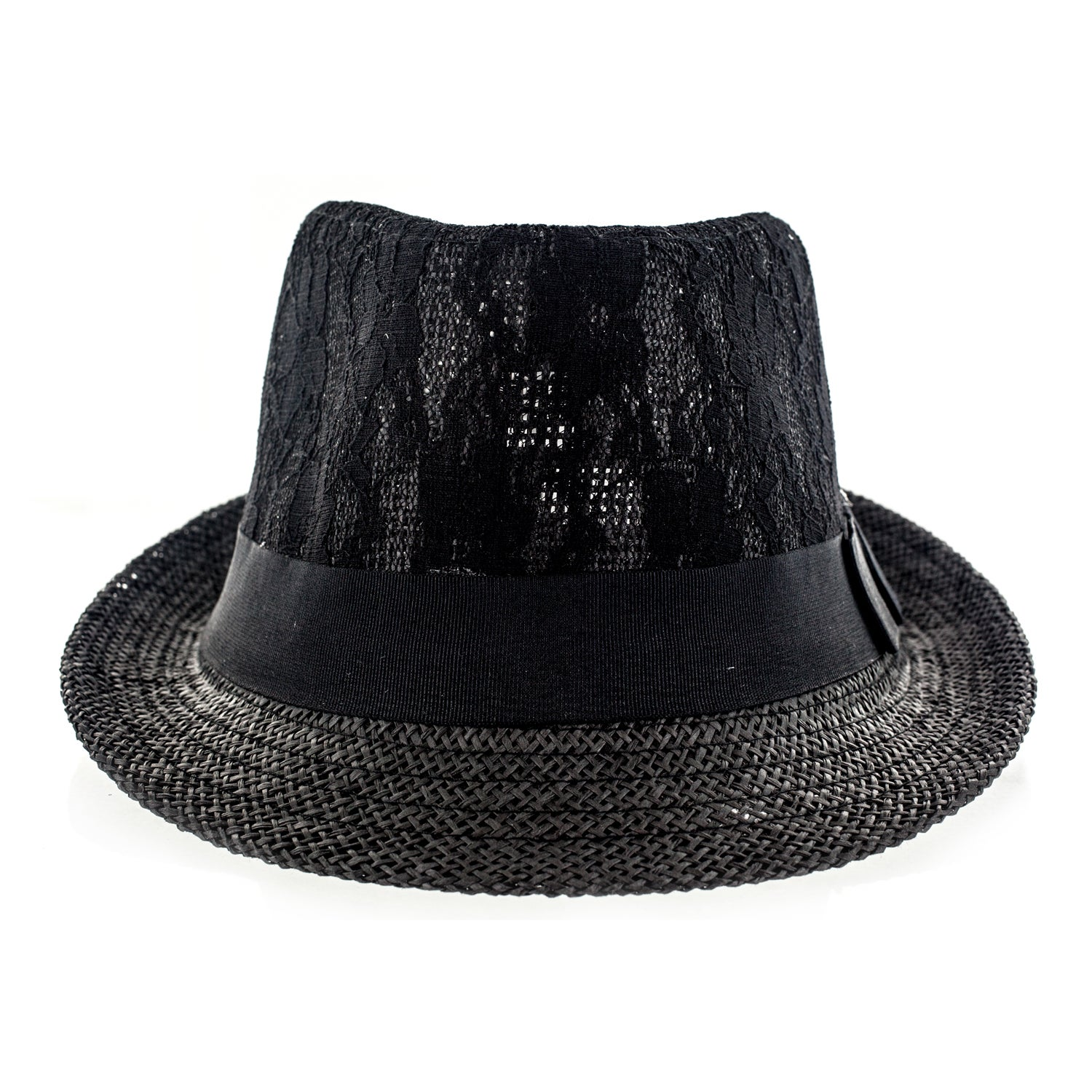 Details about Faddism Fabric Fedora Hat 6f13a70cace