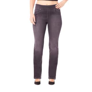 Bluberry Women's Georgia Black Plus-size Straight-leg Denim Pants|https://ak1.ostkcdn.com/images/products/12376023/P19200057.jpg?impolicy=medium