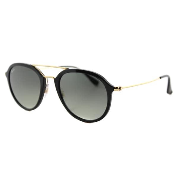 Ray-Ban RB4253 Sonnenbrille Schwarz / Gold 601-71 53mm lh12B7POV