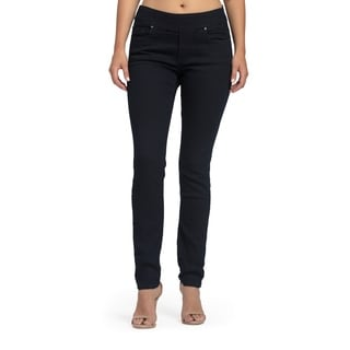 Bluberry Women's Iris Midnight Blue Slim Leg Denim Jeans