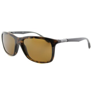 Ray-Ban Havana Brown Plastic Sport Sunglasses with Polarized Lenses