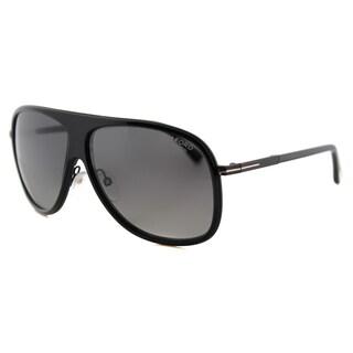 Tom Ford TF 462 01D Chris Black Plastic Aviator Grey Gradient Polarized Lens Sunglasses|https://ak1.ostkcdn.com/images/products/12376113/P19200116.jpg?_ostk_perf_=percv&impolicy=medium