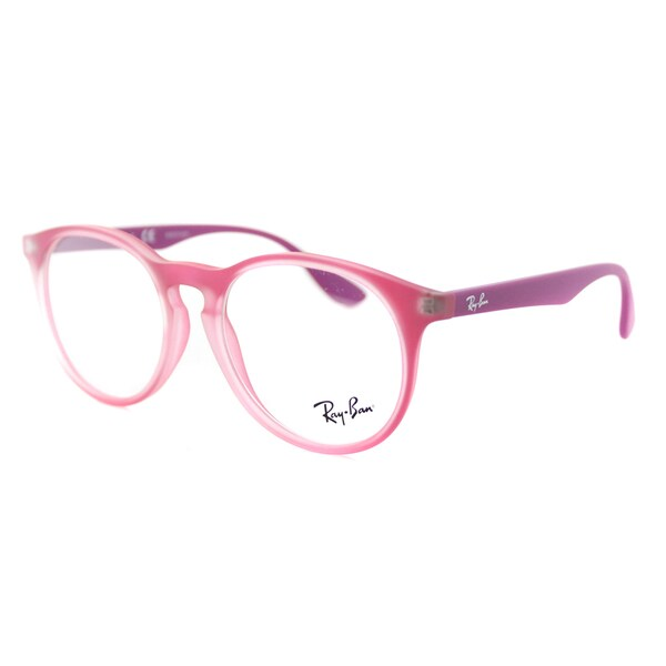 a04d283110 Ray-Ban RY 1554 3671 Rubber Violet Plastic 48-millimeter Round Eyeglasses