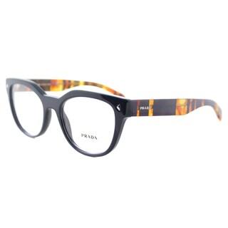 Prada PR 21SV TFM1O1 Blue Plastic 51-millimeter Cat-eye Eyeglasses