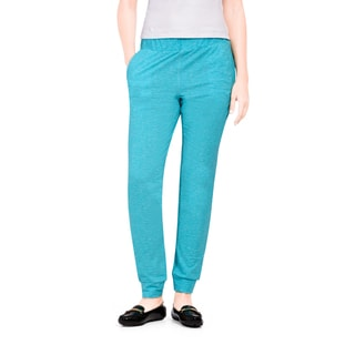 Bluberry Women's Limpet Shell Blue Relaxed Yoga Pant