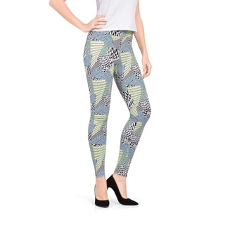 Bluberry Denim Women's Afro Tribal Everyday Legging