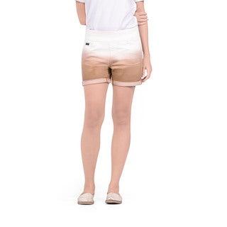 Bluberry Women's Unique Dip-dyed Shorts
