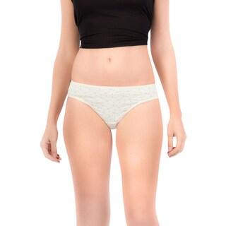 Amore Women's Soft Prints Bikini Underwear (Pack of 3)