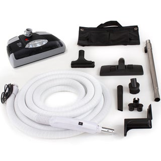 35-foot Central Vacuum Kit with Power Head and Tools