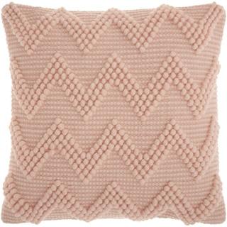 mina victory life styles large chevron rose throw pillow 20inch x 20