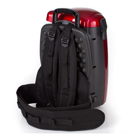 GV 8-Quart HEPA Backpack Vacuum Straps - Black