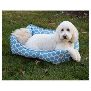 Quartre Foil Cuddler Heated Pet Bed