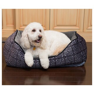Trellis Cuddler Heated Pet Bed