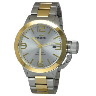 TW Steel Men's CB31 Canteen Silver Watch