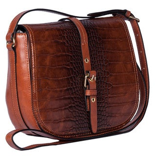 Emilie M. Dakota Crossbody Flap Bag