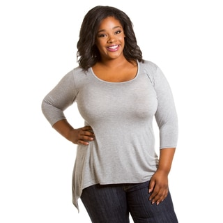 Sealed with a Kiss Women's Plus Size Polly Top