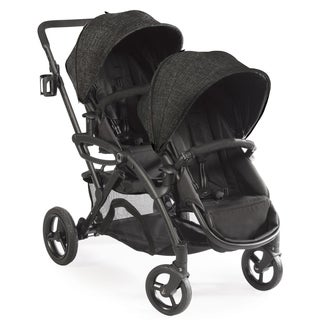 Contours Options Elite Black Carbon Tandem Stroller