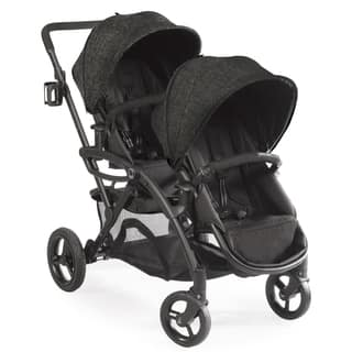 Contours Options Elite Black Carbon Tandem Stroller|https://ak1.ostkcdn.com/images/products/12376641/P19200523.jpg?impolicy=medium
